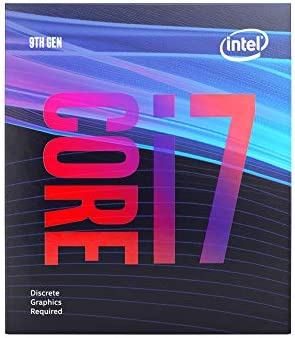 Intel Core i7 9700F Desktop Processor 8 Core 3 GHz speed Up to 4 7 GHz Without Processor Graphics product image