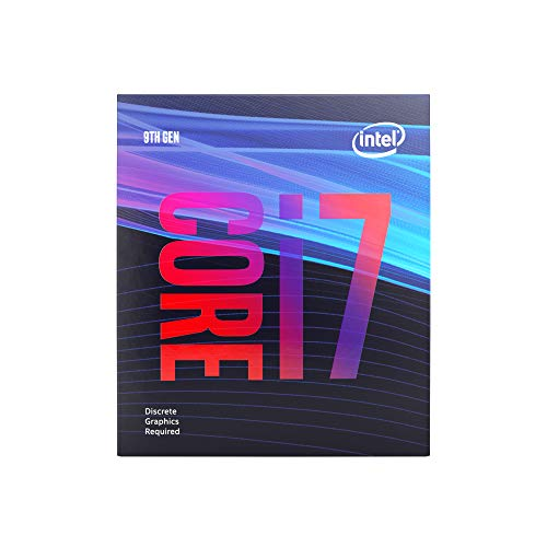 Intel Core i7-9700F - Processore desktop 8 Core fino a 4,7 GHz senza processore grafico LGA1151 300 Series 65W