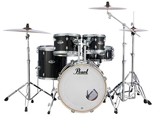 Pearl Export EXX705N/C31 Schlagzeug-Set mit 830er-Serie, Schwarz