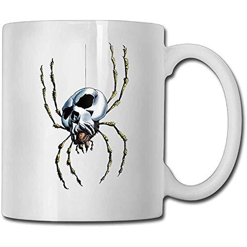 Interessante spinnen-scalette koffiemok 11 oz heren verjaardagscadeaus theekopje een perfect cadeau voor familie en vrienden