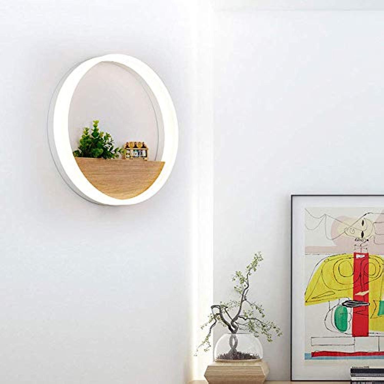 WENYAO Wandleuchte Kreative LED Nachttischlampe Modern Minimalistisches Schlafzimmer Wohnzimmer Ganglichter