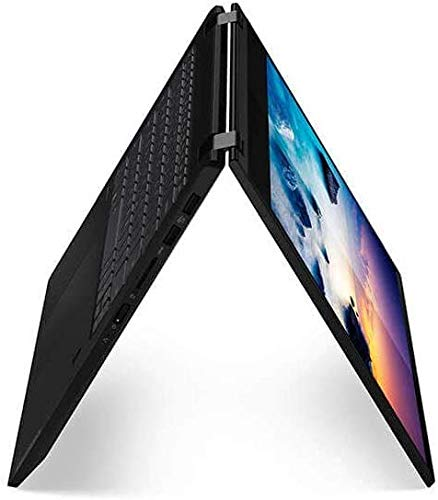 2020 Lenovo Flex 15 2-in-1 Convertible Laptop, 15 Inch FHD Touchscreen Display, 8th Gen Intel i3-8145U, 4GB DDR4 RAM, 128GB NVMe SSD, Windows 10, 81SR000UUS, Black