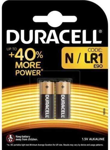 Duracell LR1Alkaline-Batterien, 10 Stück, Uhr-Batterien Uhr MN9100910A E90Typ N 1,5V