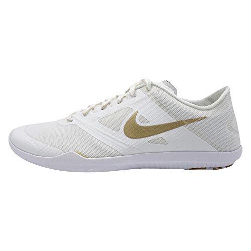 Nike Damen WMNS Studio Trainer 2 Tennisschuhe, weiß o weiß Mtllc Gld Pr Pltnm MTLC, 42 EU