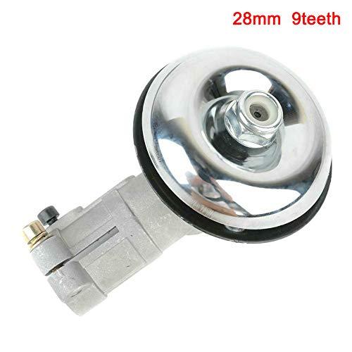 Eihan Gearbox Gear Head - Cabezal para cortapelos (26/28 mm, aluminio), 9 Teeth, 28 mm