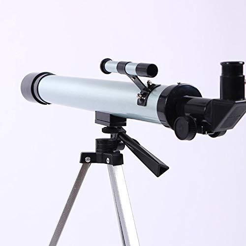 IGPG Telescoop Speelgoed Astronomische Microscoop Vergroting met drie benen 50-100 keer Geschikt voor Home Theater Focal Lengte: 900 Mm (zilver)