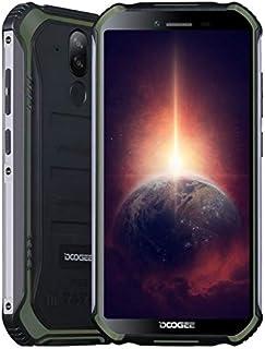 Móvil Resistente DOOGEE S40 Pro 【4GB RAM 64GB ROM】, IP68 Teléfono Libre Antigolpes Android 10, Helio A25 Octa Core, Pantal...