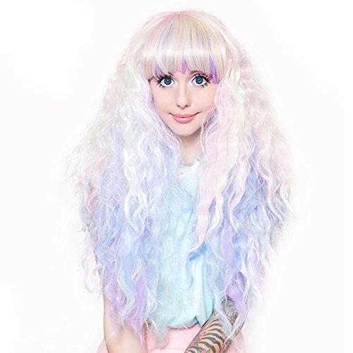 Gothic Lolita Wigs® Rhapsody™ Collection - Pastel Rainbow -00470