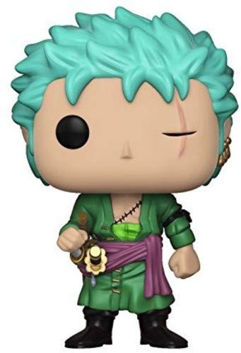 Funko- Pop Vinile One Piece Zoro Action Figure, 9 cm, 23191