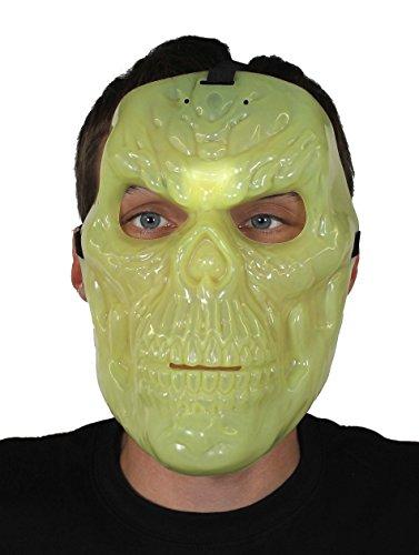 Knochen Masken FÜR Halloween = VON ILOVEFANCYDRESS®= DIE Maske IST GRÜN WIE IN EINEM BERÜHMTEN AGENTEN Film UND LEUCHTE IM Dunkeln =PERFEKT FÜR Jede MASKIERUNG AN Fasching UND Karneval