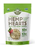 Manitoba Harvest Organic Hemp Hearts Shelled Hemp Seeds, 7 Ounce (Pack of 1); with 10g Protein & 12g Omegas per Serving, Non-GMO, Gluten Free
