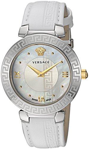 Versace V16010017 - Reloj de Pulsera Mujer, Color Blanco