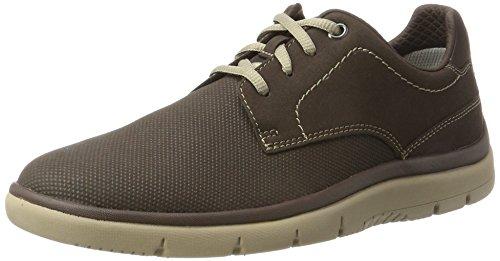 Clarks 261287827, Zapatos Hombre, Marrón (light Black), 42.5 EU