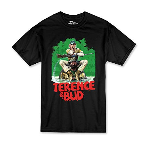 Terence Hill Bud Spencer - Hippo (schwarz) (XL)