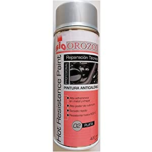 Pintura Anticalorica Gris Plata en Spray 400ml.
