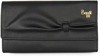 Baggit Women's Synthetic Wallet (Black) (Lj Bowtie Y G)