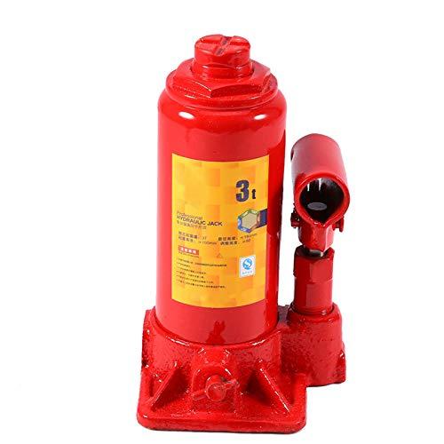 Evevean Gato hidráulico para botella de 3 toneladas de coche, estructura de...