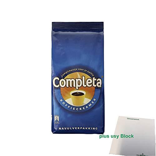 Completa Kaffeeweißer Kaffeecreamer (1kg Sack) + usy Block