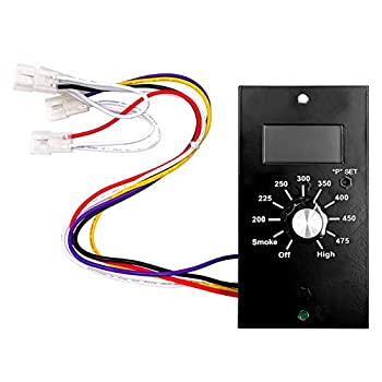 YAOAWE Thermostat Kit Digital Control Board Replacement Parts Compatible with Pit Boss Wood Pellet Smoker Grill