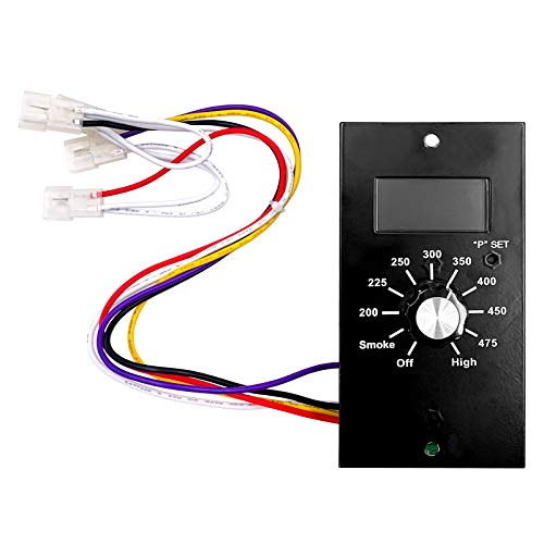 YAOAWE Thermostat Kit Digital Control Board Replacement Parts, Compatible with Pit Boss Wood Pellet Smoker Grill