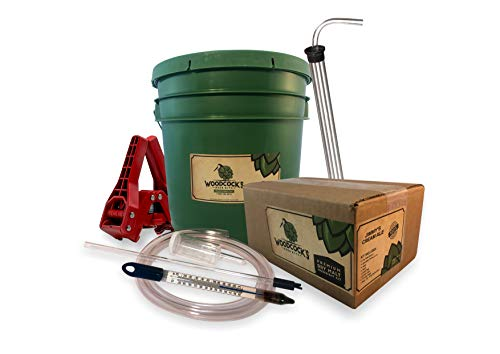 2-Gallon Home Beer Brewing Kit with Jimmy's Cream Ale - Complete Homebrew Starter Set - Ideal Beginners Beer Making Kit with Everything to Make Your Own Craft Brew - Many Refill Kits Available