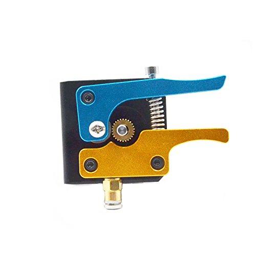Redrex Aluminum Bowden Extruder con Ingranaggio di Trascinamento a 26 Denti per Tevo Tarantula I3 ed altre Stampanti 3D con Estrusore Bowden