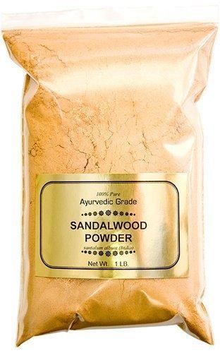 India Sandalwood Powder 100% Pure Ayurvedic Grade, 1 lb
