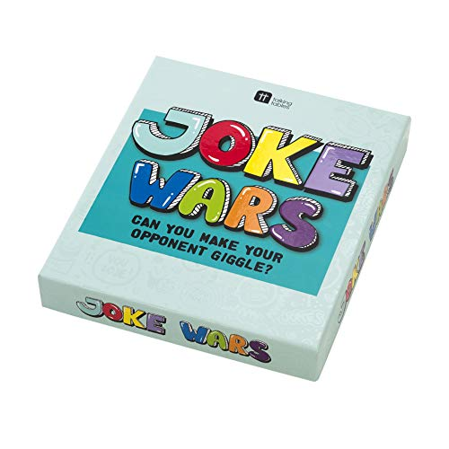 Talking Tables Wars Jokes Family Game, You Laugh You Lose| for Christmas and Birthday Gifts, Multicolor