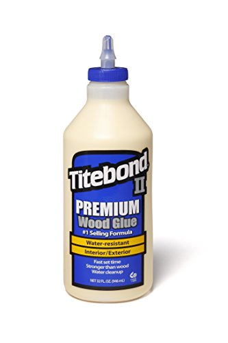 Franklin International 5005 Titebond II Premium Wood Glue, 32-Ounce Bottle