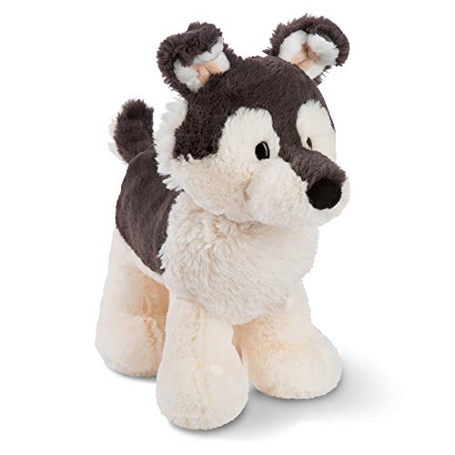 NICI 45731 Kuscheltier Hund Husky Swante 25 cm, stehend – Das süße Hunde Plüschtier für Jungen, Mädchen, Babys und Kuscheltierliebhaber