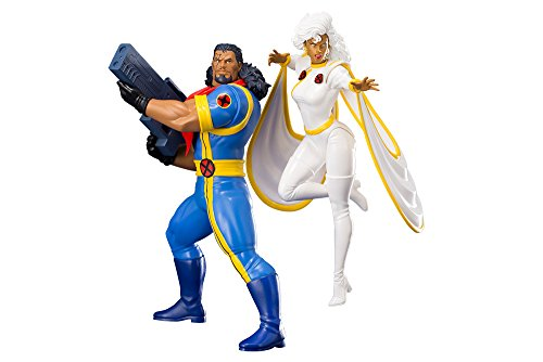 Kotobukiya Marvel Universe ARTFX+ Statue 1/10 2-Pack Bishop & Storm (X-Men '92) 20 cm