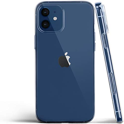 Totallee - Carcasa para iPhone 12 (2020), transparente