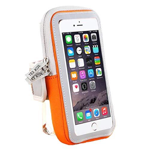 Sport Running Armband, universele waterdichte mobiele telefoons Telefoonarmband Brassard Telefoonhouder Armhoes Pouch, voor iPhone SE