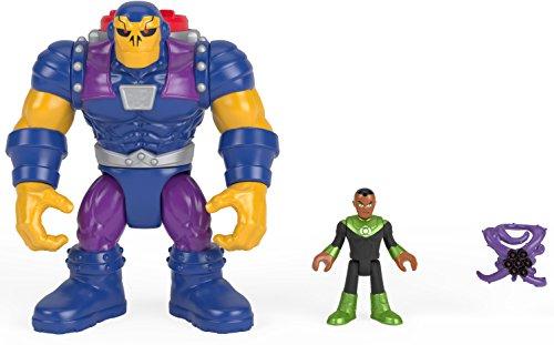 Imaginext Cifras niños mongul y Green Lantern