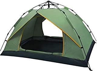 Single Layer Tent Camping Tent Outdoor Automatic Tent Waterproof/Rain-Proof for Camping