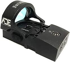 Ade Advanced Optics rd3-013 4MOA Red Dot Micro Mini Reflex Sight with 30000 Battery Life for Glock MOS 17 19 34 35 40 41 Pistol Handgun