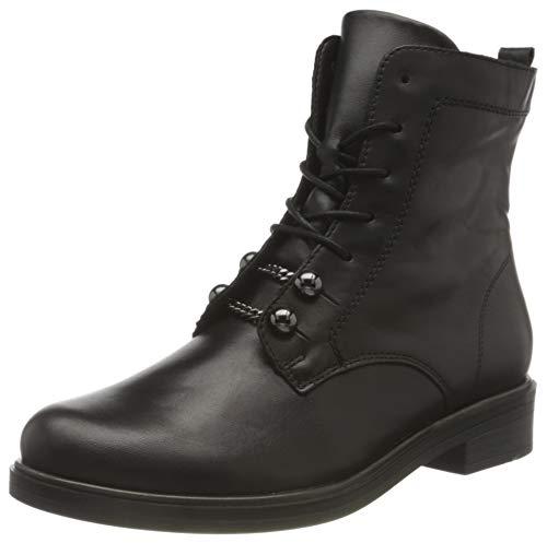 Remonte Damen D8374 Mode-Stiefel, schwarz/schwarz / 01, 36 EU