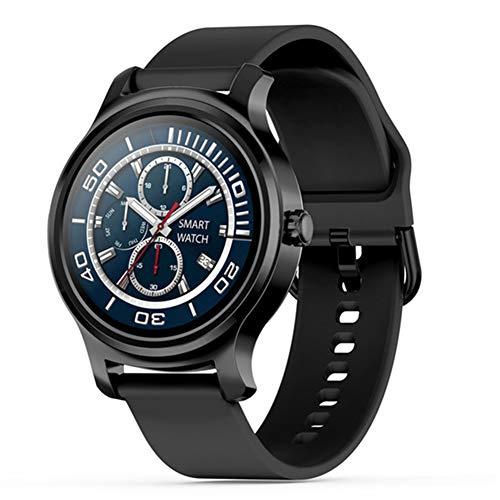 LXZ R2 Hombres Reloj Inteligente Y Monitor De Ritmo Cardíaco Mujeres Música De Bluetooth Llamada Mensaje Recordatorio Reloj Playe Rastreador De Ejercicios Smartwatch para Android iOS,E