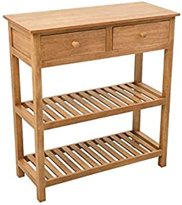 Enfilade Bahut Billot Table Style Cageots Console Campagne F1lcJ3uTK