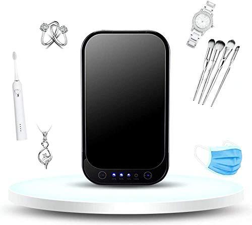 WMMY Professionele UV Sterilizer Draagbare UV Licht Sterilizer Doos, Sterilizer Doos, Sterilisatie En Desinfectie voor Mobiele Telefoon Sleutel Gadget Schoonheid artikelen, USB Opladen