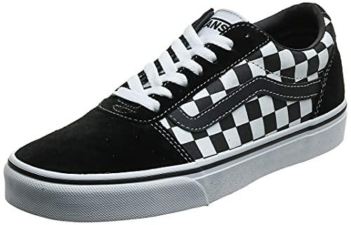 Vans Ward Suede/Canvas, Zapatillas, Black/True White Pvj, 38 EU