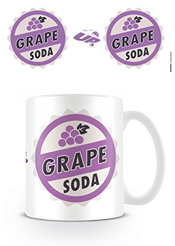 1art1 Up, Grape Soda, Disney Pixar Taza Foto (9x8 cm) Y 1x Pegatina Sorpresa