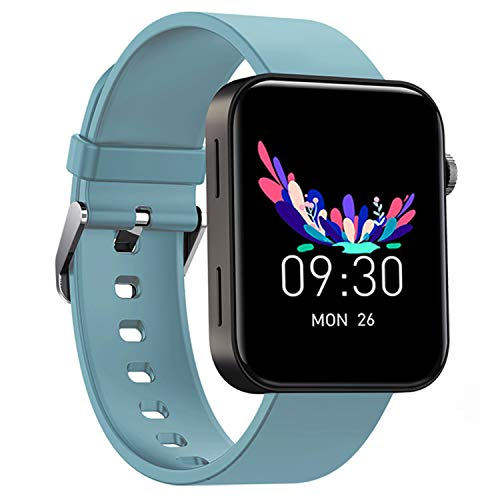 """Smart Watch IP67 Sports Waterproof-HAOQIN QS1 HaoWatch Full Touch Smart Watch 1.54"""" Screen Fitness Tracker with Heart Rate Sleep Monitor for Men and Women Smart Watches Bluetooth 4.0 Android iOS Blue"""