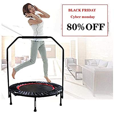 UAMSISTE Folding Trampoline, Household Mini Tra...