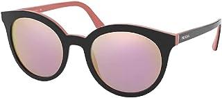 Prada PR02XS Round Sungl for Women + FREE Complimentary Eyewear Kit