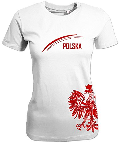 Jayess Polen - Polska Adler - Women T-Shirt Weiss by Gr. M