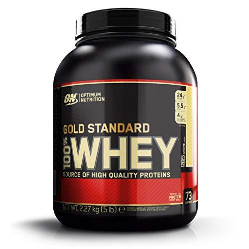 Optimum Nutrition 100% Whey Gold Standard, French Vanilla Creme, 5 Pound by Optimum Nutrition