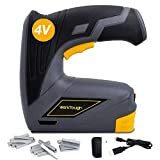 Werktough CSG01 Cordless Staple Gun DIY Electric Stapler Tacker and Rechargeable USB Charger