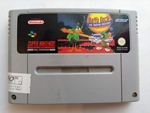 Daffy Duck The Marvin Missions [Nintendo Super NES]
