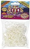 CRAZE Loops Set di 300 Anelli in Silicone per Braccialetto, in Gomma, Mega US, Colori Assortiti, 51086